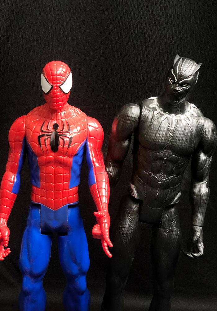 Spidey & Panther